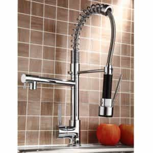 Polished-Nickel-Finish-Solid-Brass-Two-Spouts-Spring-Pullout-Kitchen-Faucet_600x600